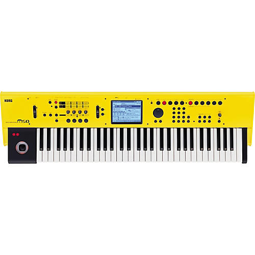 Korg M50 61-Key Workstation - Limited Edition Yellow