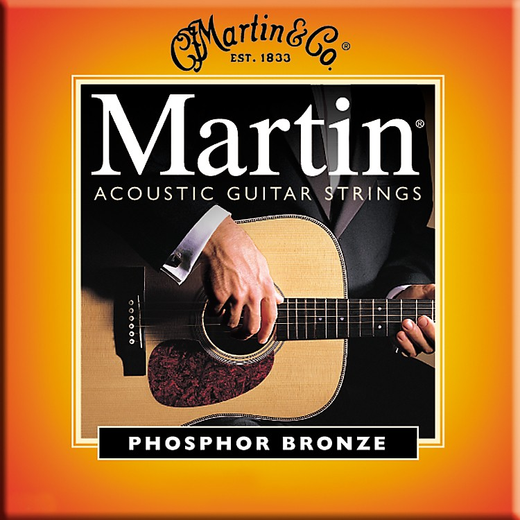 Martin M545 Light-Medium Phosphor Bronze Acoustic Guitar Strings