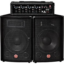 Open BoxHarbinger M60 60-Watt, 4-Channel Compact Portable PA with 10 in. Speakers