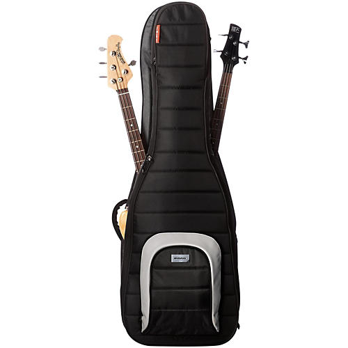 MONO M80 Dual (Double) Bass Guitar Case Jet Black