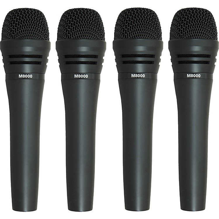 Audio-Technica M8000 Dynamic Mic 4 Pack