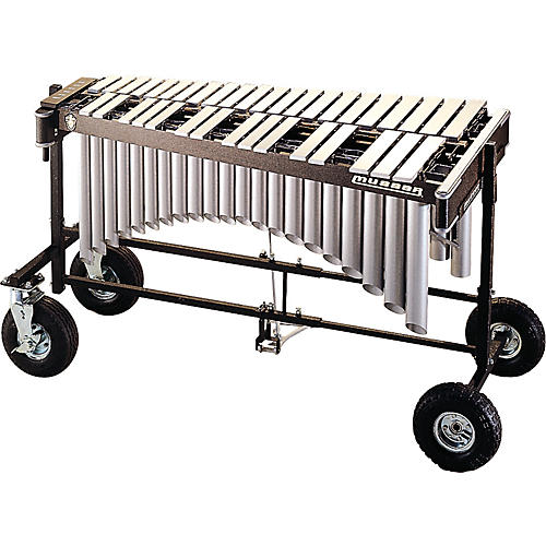 Musser M8055 Vibraphone with All Terrain Cart Mallet Percussion-thumbnail