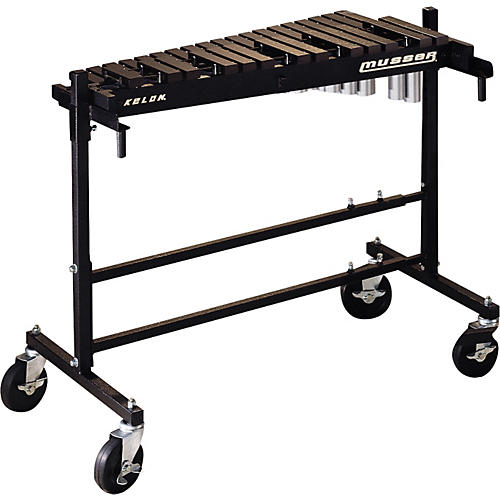 Musser M8067 2.5 Octave Marching Xylophone with 8005 Cart With M8005 Cart