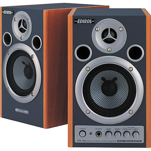 Edirol MA-15D Digital Stereo Micro Monitor Pair