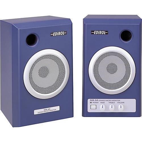 Edirol MA-5A Stereo Micro Monitor Pair-thumbnail