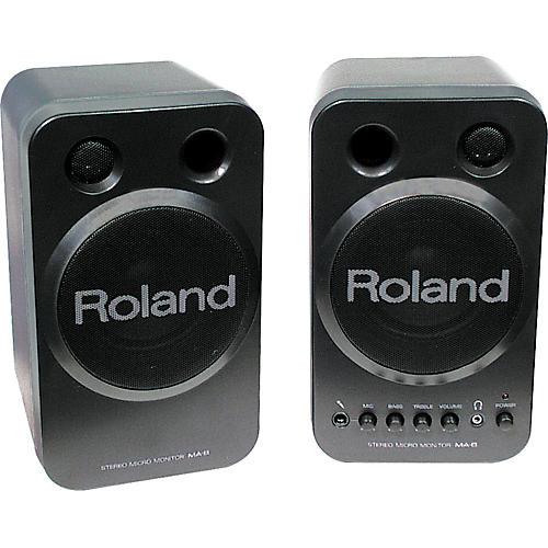 Roland MA-8BK Powered Micro Black Monitors