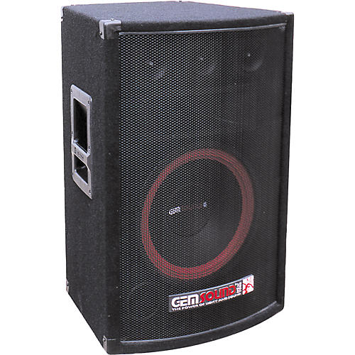 Gem Sound MA1500 3-Way Powered Speaker-thumbnail