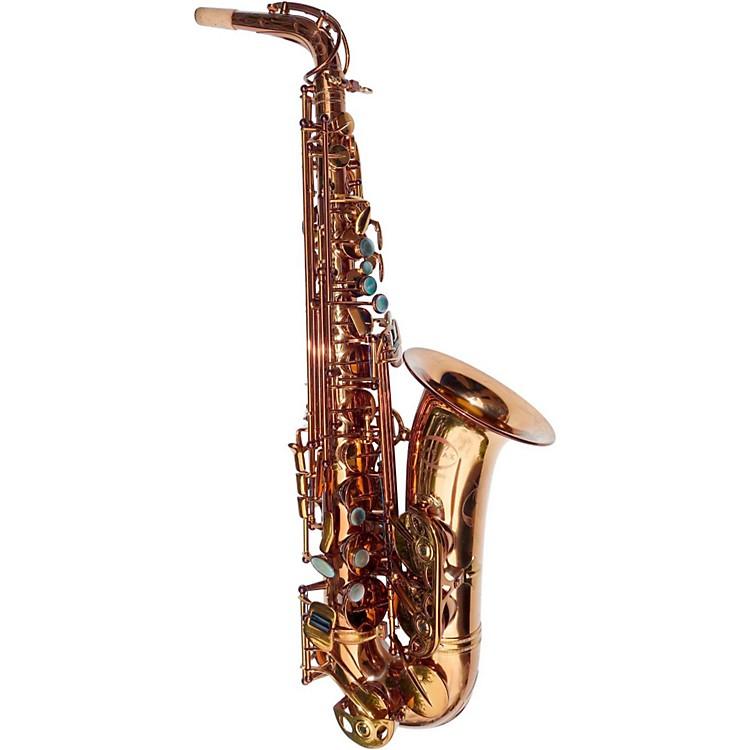 MACSAXMAC 8 Alto SaxophoneDark Gold Lacquer