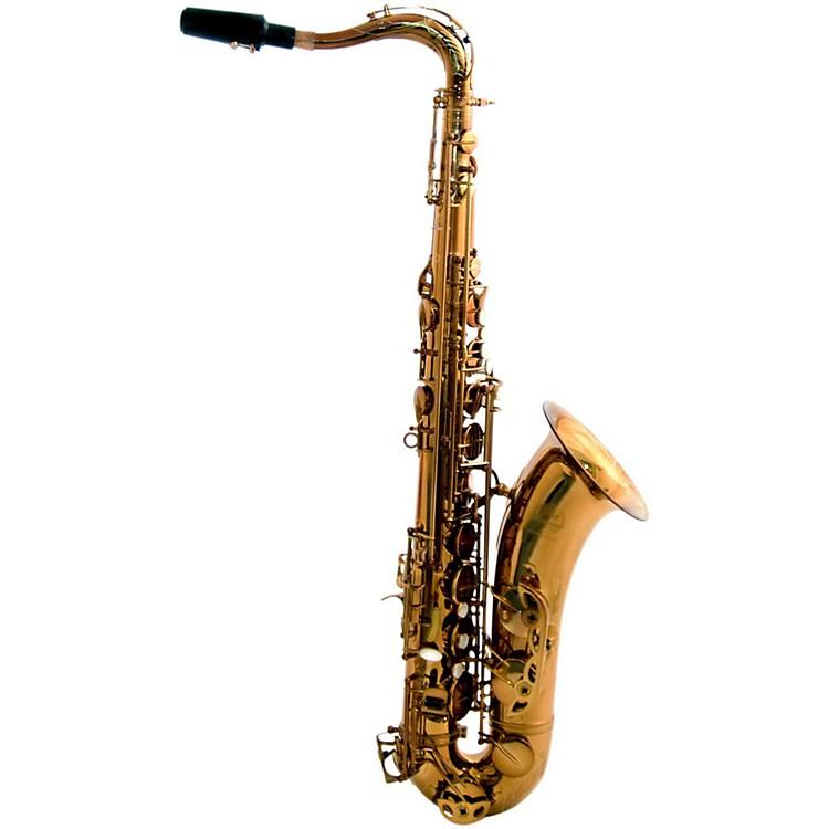 MACSAXMAC 8 Tenor SaxophoneDark Gold Lacquer