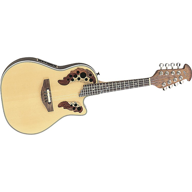 Applause MAE148 Roundback Acoustic/Electric Mandolin Natural