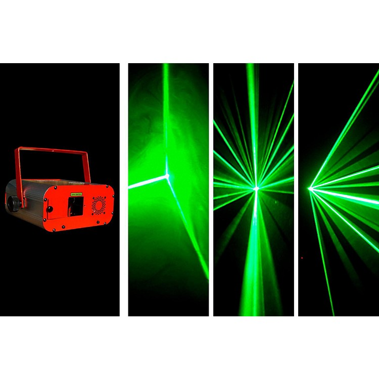 OmniSistem MAGIC BOX WIDE BEAM Laser Effect - Green