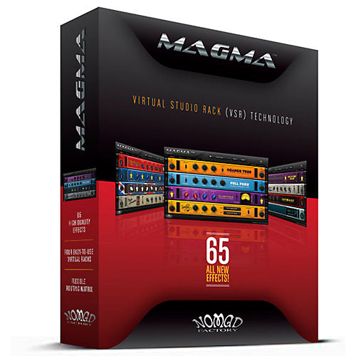 Nomad Factory MAGMA Virtual Studio Rack Software Plug-In