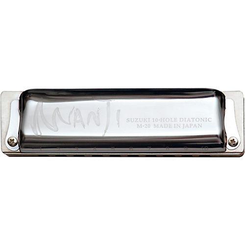 Suzuki MANJI Harmonica Major 7th Tuned Bb