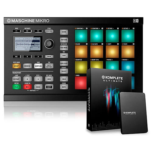 Native Instruments MASCHINE MIKRO MK2 with KOMPLETE 11 Ultimate-thumbnail