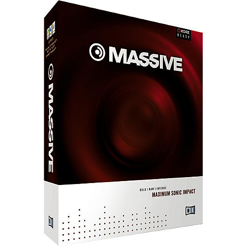 Native Instruments MASSIVE Soft Synth Virtual Instrument Plug-In