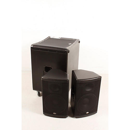open box b 52 matrix 2500 3 piece active speaker system regular 190839108494 musician 39 s friend. Black Bedroom Furniture Sets. Home Design Ideas