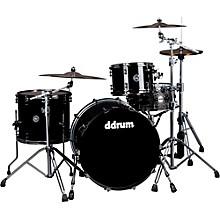 Ddrum MAX Series 3-Piece Maple Alder Drum Set Piano Black