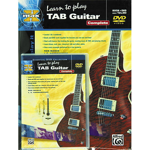 Alfred MAX Tab Guitar Complete (Book/DVD)-thumbnail