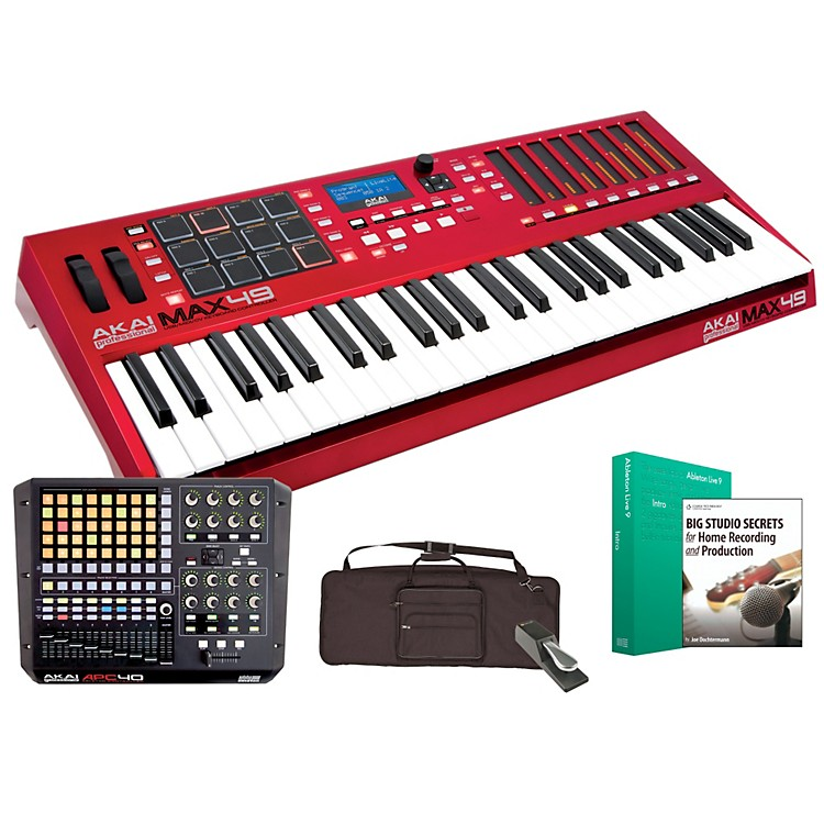 Akai Professional MAX49 and APC40 Controller Package