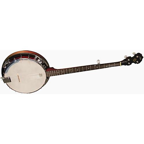 Morgan Monroe MB-100E Electric 5 String Banjo-thumbnail
