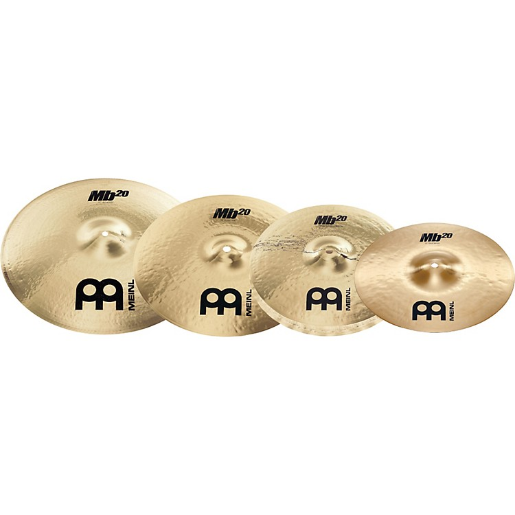 Meinl MB20 Rock Cymbal Pack