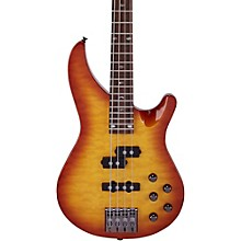 Mitchell MB300 Modern Rock Bass with Active EQ Honey Burst