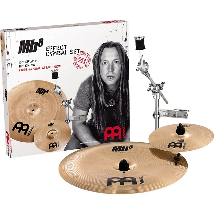 MeinlMB8 Effect Pack with Free Cymbal Attachment