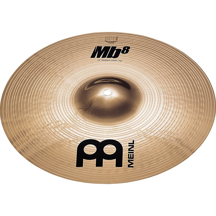 Meinl MB8 Medium Hi-hat Cymbal Pair 14 In