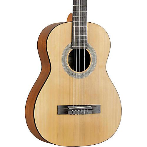 Fender MC-1 3/4 Size Nylon String Guitar Agathis Top Satin Body Finish