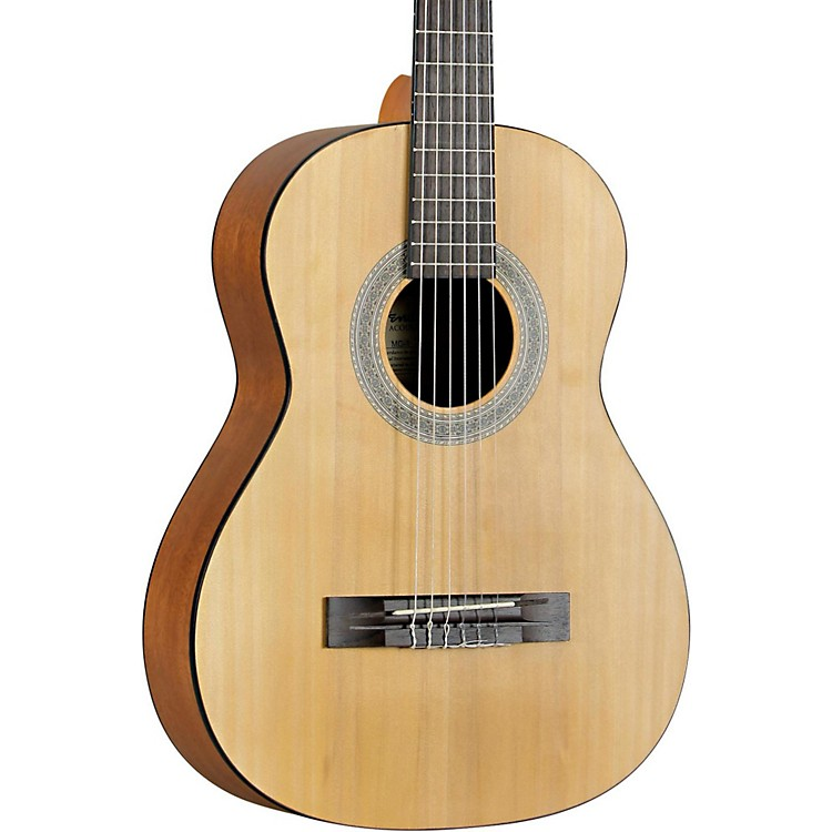 Fender MC-1 3/4 Size Nylon String Guitar Agathis Top Satin Body Finish