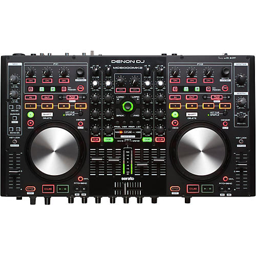 Denon MC6000Mk2 Professional Digital Mixer & Controller-thumbnail