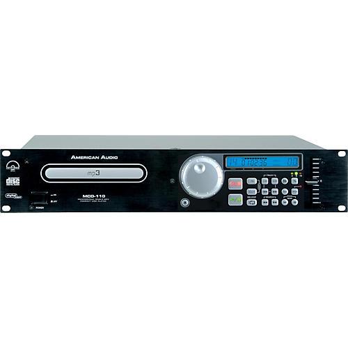 American Audio MCD-110 Rackmount Single CD/MP3 Player
