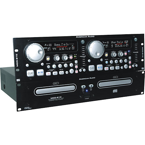 American Audio MCD-810 Dual CD and MP3 Player