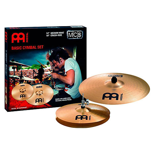 Meinl MCS Hi-hat Crash/Ride Cymbal Pack