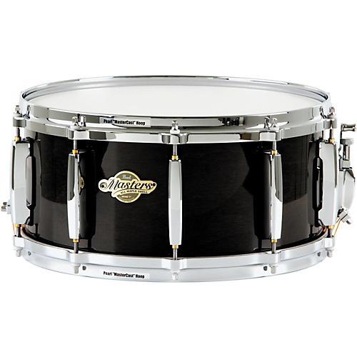 Pearl MCX Masters Series Snare Drum 14 x 6.5 in. Black Silk