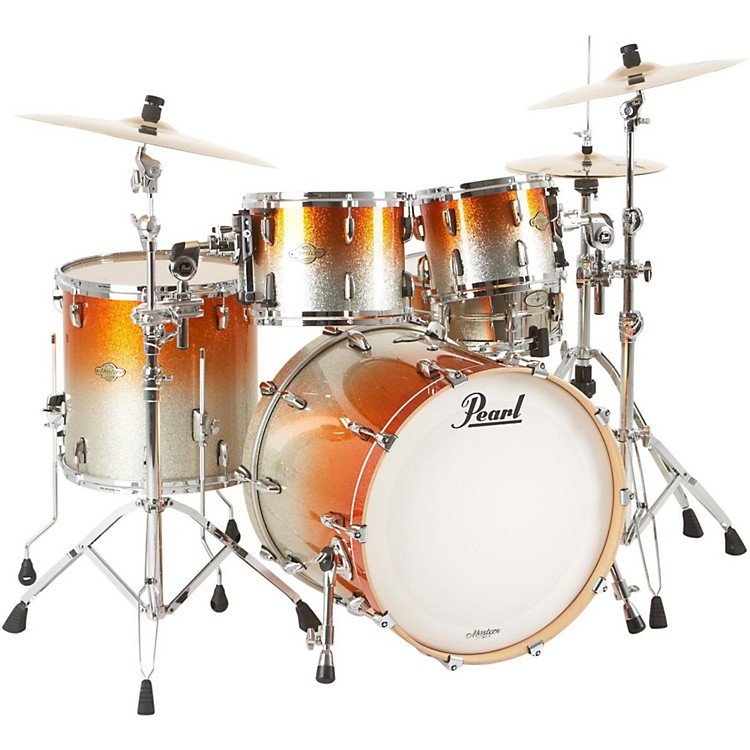 PearlMCX924 Masters Custom 4-Piece New Fusion Shell Pack