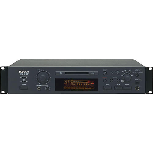Tascam MD-350  Advanced MiniDisc Recorder-thumbnail