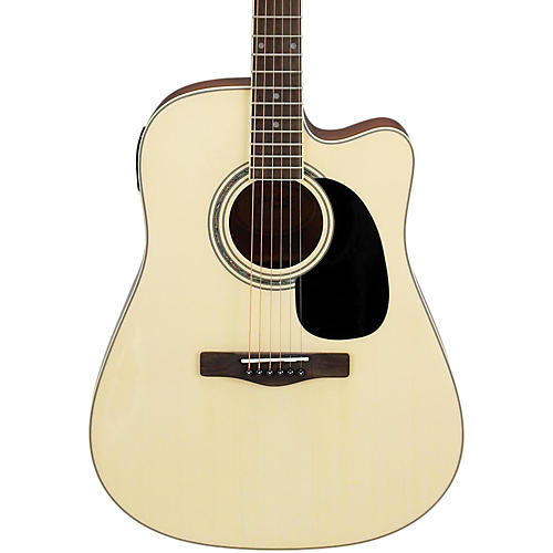 Mitchell MD100CE Dreadnought Cutaway Acoustic-Electric Guitar Natural