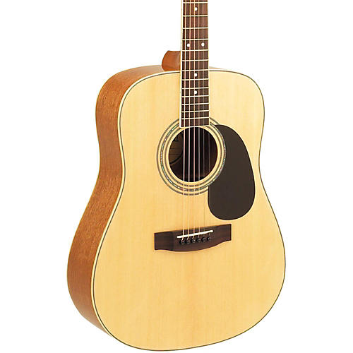 Mitchell MD100S Dreadnought Acoustic Guitar Natural