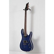 Mitchell MD400 Modern Rock Double-Cutaway Electric Guitar Level 2 Transparent Blue 888366072202