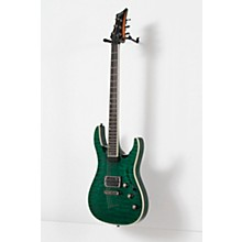 Mitchell MD400 Modern Rock Double-Cutaway Electric Guitar Level 2 Transparent Green 190839121332