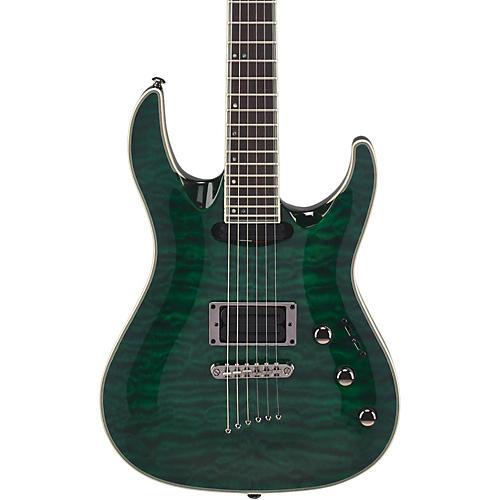 Mitchell MD400 Modern Rock Double-Cutaway Electric Guitar Transparent Green