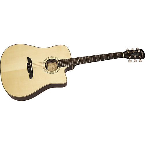 Alvarez MD711C Masterworks Cutaway Dreadnought Acoustic-Electric Guitar with System 600 Mk II