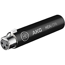 AKG MDAi CPA Connected PA Microphone Adapter Black