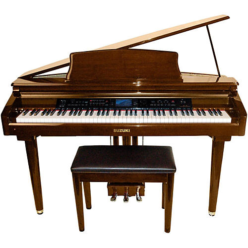 Suzuki MDG-300 Brown Micro Grand Digital Piano-thumbnail
