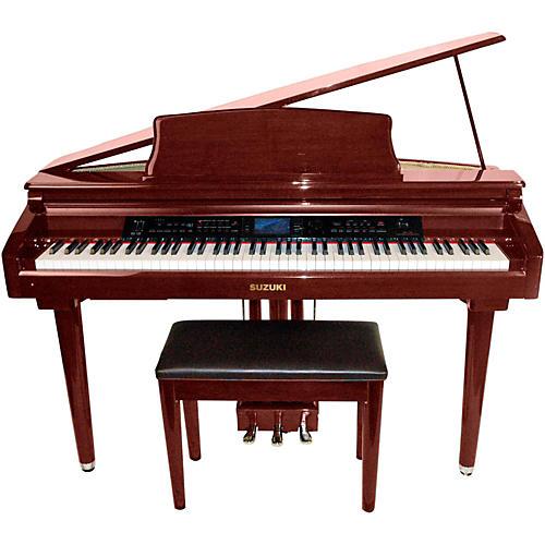 Suzuki MDG-300 Red Micro Grand Digital Piano | Musician's ...