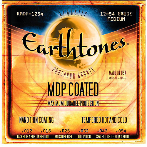 Kerly Music MDP Earthtones PB Medium Coated Acoustic Guitar Strings