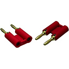 VTG MDPR Red Banana Plugs 2-Pack
