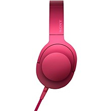 Sony MDR100AAP h.ear Full Size Headphones Pink