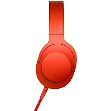 Sony MDR100AAP h.ear Full Size Headphones Red